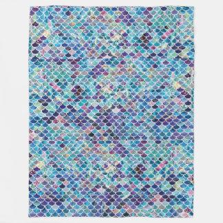 Cobertor De Velo Cobertura macia dos azuis da sereia