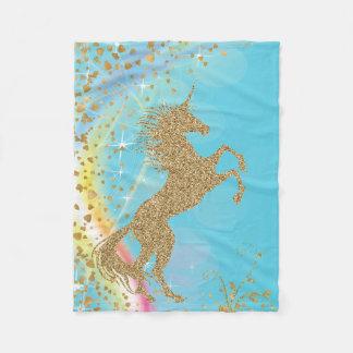 Cobertor De Velo Cobertura mágica do unicórnio