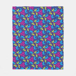 Cobertor De Velo cobertura Multi-colorida do velo do teste padrão