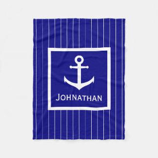 Cobertor De Velo Cobertura náutica feita sob encomenda do azul