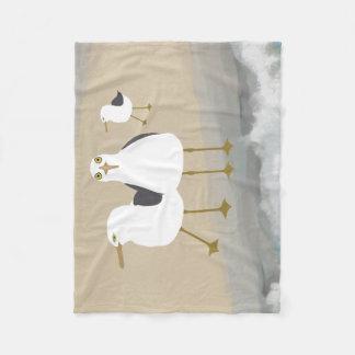 Cobertor De Velo Cobertura parva do velo das gaivotas