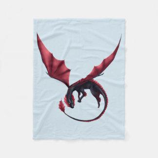 Cobertor De Velo Cobertura pequena de Ouroboros do dragão de Alavon