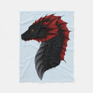 Cobertor De Velo Cobertura pequena do perfil do dragão de Alavon