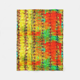 Cobertor De Velo Cobertura pequena do velo - cacto pintado Saguaro