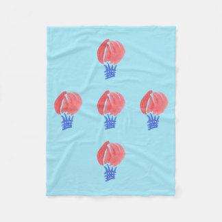 Cobertor De Velo Cobertura pequena do velo do balão de ar