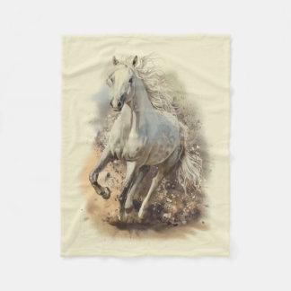 Cobertor De Velo Cobertura pequena do velo do galope do cavalo