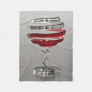Cobertor De Velo Cobertura pequena estranha do velo do vidro de