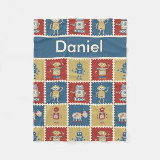 Cobertor De Velo Cobertura personalizada do robô de Daniel