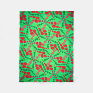 Cobertor De Velo Cobertura polar Jimette Desenho de verde e