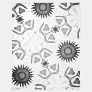 Cobertor De Velo Cobertura polar Jimette Desenho preto e branco