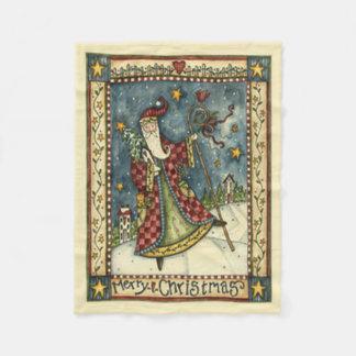 Cobertor De Velo Cobertura popular do velo do Natal do papai noel