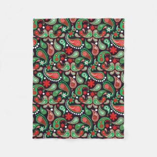 Cobertor De Velo Cobertura preta verde vermelha do pássaro de