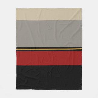 Cobertor De Velo Cobertura preta, vermelha, cinzenta, tan