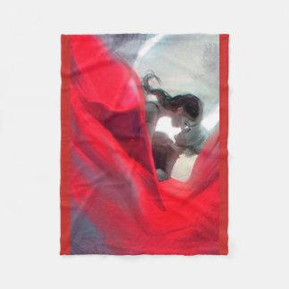 Cobertor De Velo Cobertura romântica da cor vermelha