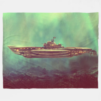 Cobertor De Velo Cobertura submarina do velo do pirata dourado