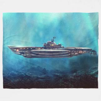 Cobertor De Velo Cobertura submarina do velo do pirata grande