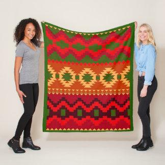 Cobertor De Velo Cobertura tribal do velo do teste padrão