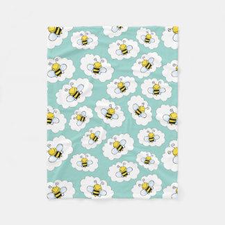 Cobertor De Velo Coberturas bonitos do velo das abelhas