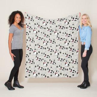 Cobertor De Velo Coberturas bonitos do velo do teste padrão dos