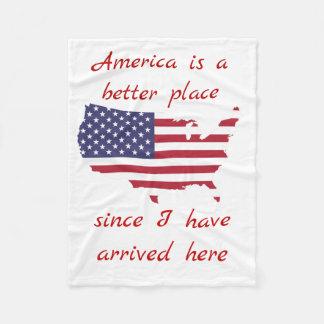 Cobertor De Velo Coberturas do bebê de América