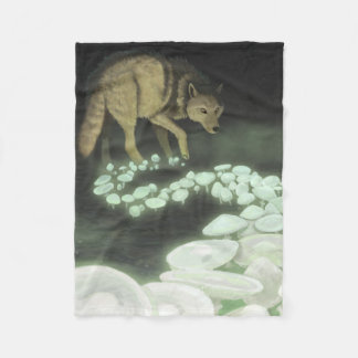 Cobertor De Velo Cogumelos de arrasto da morte do lobo
