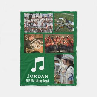 Cobertor De Velo Colagem feita sob encomenda da foto da banda 5
