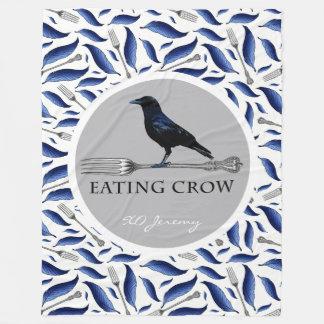 Cobertor De Velo Comendo a cobertura do lance do corvo