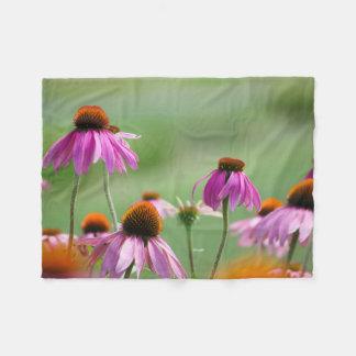 Cobertor De Velo Coneflowers roxo oriental