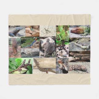 Cobertor De Velo Cor completa da cobertura da foto do lagarto