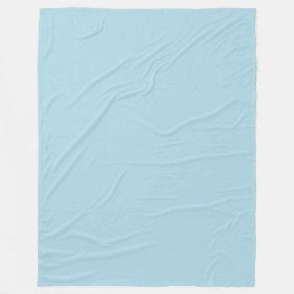 Cobertor De Velo (Cor sólida azul pálido dos azuis bebés Pastel