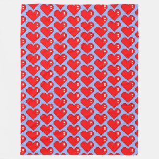 Cobertor De Velo Coração TP de oito bocados