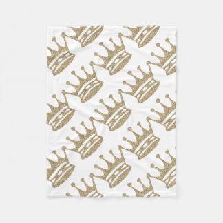 Cobertor De Velo Coroa do brilho do ouro