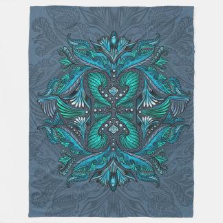 Cobertor De Velo Corvo dos espelhos, sonhos, bohemian, shaman