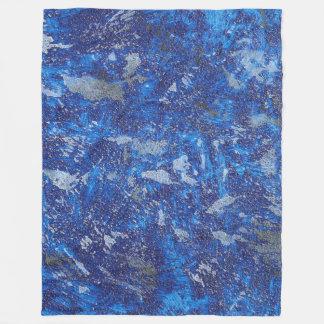 Cobertor De Velo Cosmos azul #2