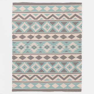 Cobertor De Velo Creme asteca da cerceta do Taupe de Ptn IIIb da