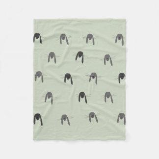 Cobertor De Velo Criatura da floresta do coelho