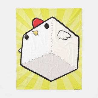 Cobertor De Velo Cubo bonito geral da galinha de Cockblock