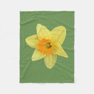 Cobertor De Velo Daffodil amarelo do primavera