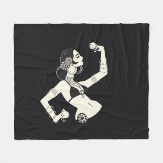 Cobertor De Velo dançarino de barriga tribal da fusão com pratos