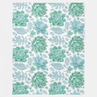 Cobertor De Velo Decoração do acento do Succulent, decoração do