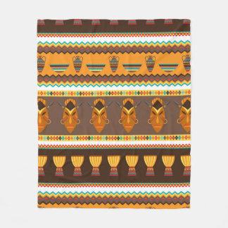 Cobertor De Velo Decoração tribal africana da casa do teste padrão
