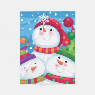 Cobertor De Velo Deixais lhe para nevar cobertura do homem