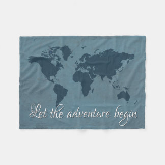 Cobertor De Velo Deixe a aventura começar