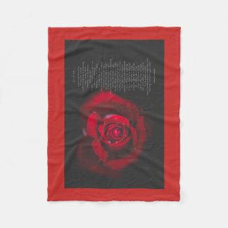 Cobertor De Velo Deixe-me ver - o velo cor-de-rosa