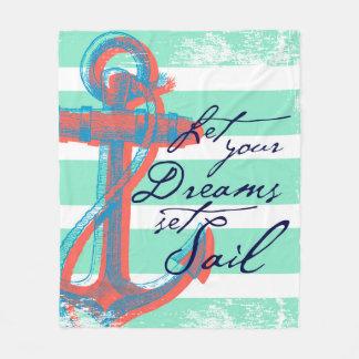 Cobertor De Velo Deixe sua vela ajustada sonhos