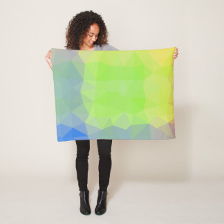 Cobertor De Velo Design abstrato & elegante de Geo - oceano a