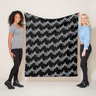 Cobertor De Velo Design de caracterização geral de Bling do velo