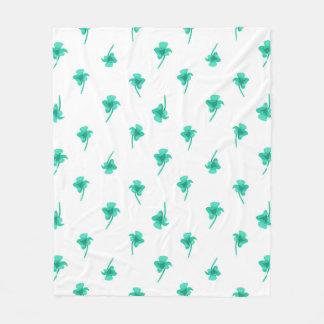 Cobertor De Velo Design do teste padrão da silhueta das flores