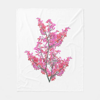 Cobertor De Velo Design floral bonito colorido