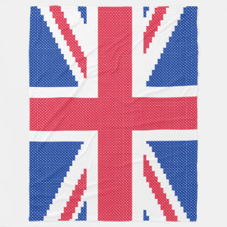 Cobertor De Velo Design original Union Jack do ponto de cruz
